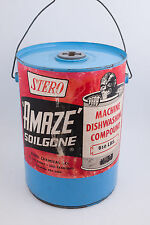 Stero Chemical Amaze SoilGone Dishwash Compound 50lbs Tin Can HULK 5 Gallon USS