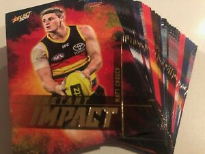 2019 Select Footy Stars Instant Impact FREMANTLE 6 Card Set