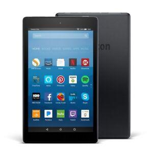 "NEW Amazon fire HD 8 Alexa Tablet 8"" Display 7th Generation 1.30GHz 32GB Black"