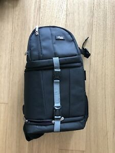 Camera Sling Backpack Bag For Canon Nikon Sony Dslr Mirrorless By