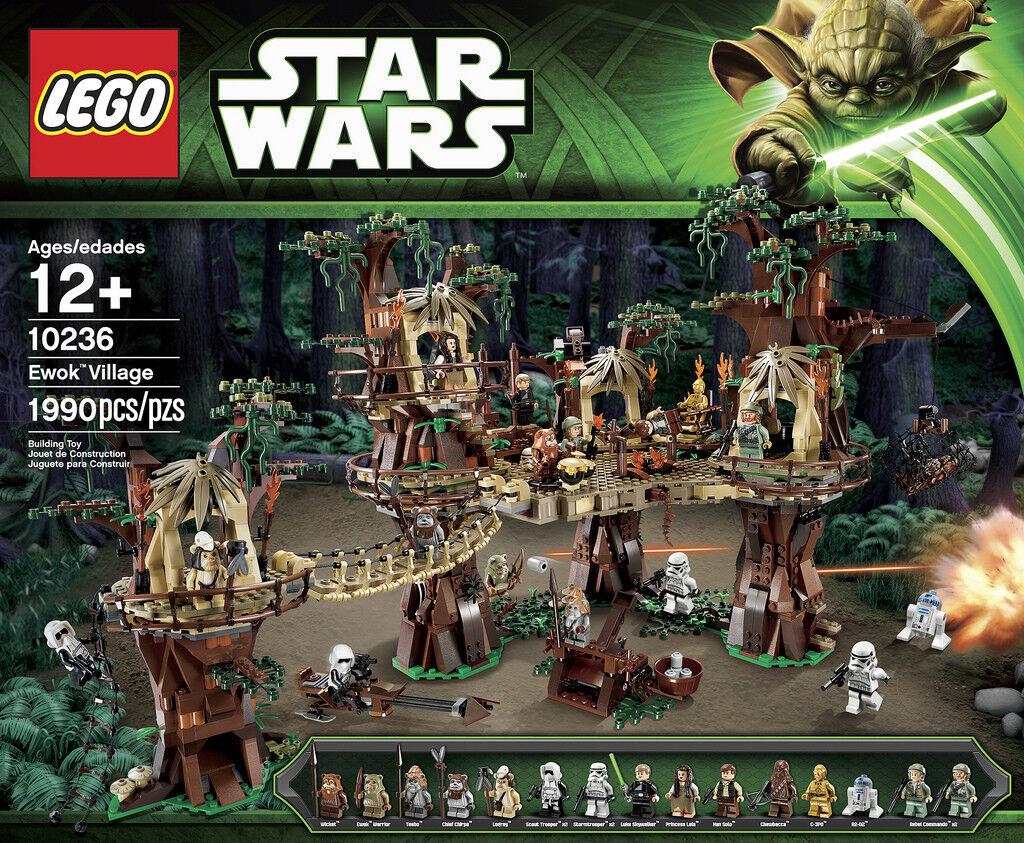Lego Star Wars Ewok Village Set 10236 - Retired Set