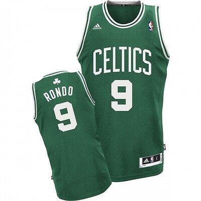 NBA Trikot Jersey Revolution30 Swingman BOSTON CELTICS Rajon Rondo #9 green