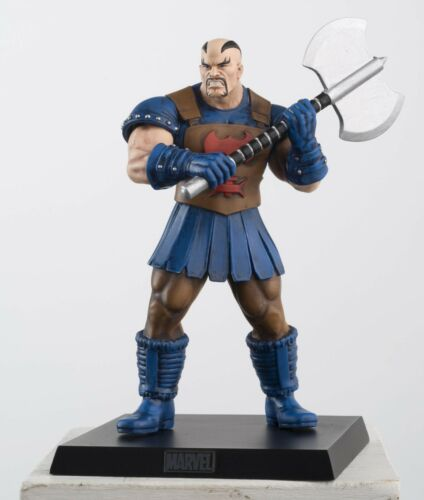 2013 Eaglemoss Supereroi Marvel Vendicatori SKURGE Statuina Piombo MIB