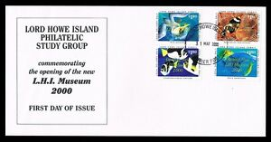 Lord Howe Island • 2000 • Commemorative Cover • Opening of LHI Museum