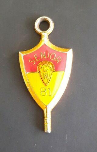 Vintage Class of 81 Senior Pendant