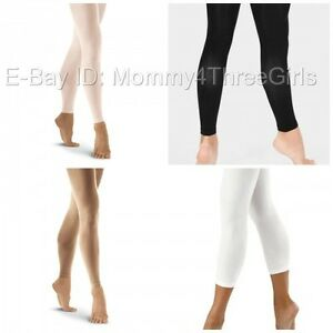 aaf161ef484 Image is loading NEW-Capezio-Bloch-Danskin-Balera-Footless-Dance-Skating-