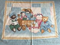 Vintage Cotton Quilt Fabric Toys Princess Fabric Panel 33x44