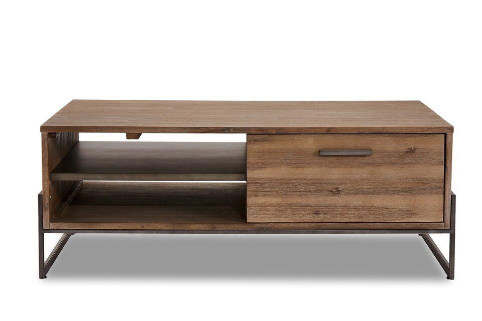 Sofabord, metal, b: 75 h: 45