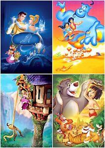 Disney-Classics-Cartoon-Children-Movie-Wall-Art-Decor-Poster-Canvas-Pictures