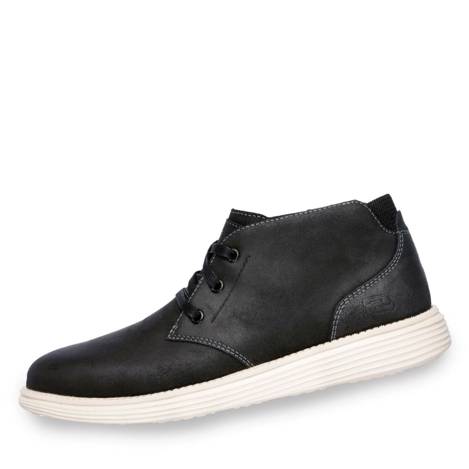sports shoes b890b ac7e8 Rolano - Status Skechers Turnschuhe Herren schwarz Schuhe ...