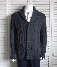 3ad10ca00 item 5 NEW Mens SIZE 3XL ALPACA Dark Gray Cable Knit Shawl Collar Cardigan  Sweater PERU -NEW Mens SIZE 3XL ALPACA Dark Gray Cable Knit Shawl Collar  Cardigan ...