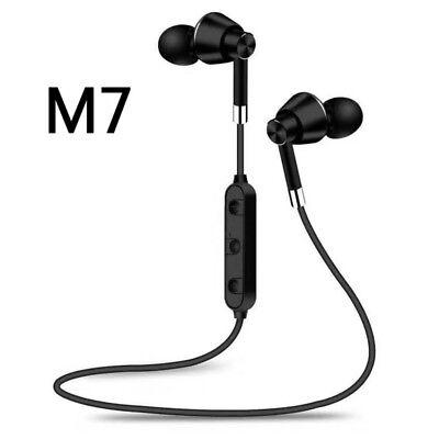 4.1Stereo Headset Magnetic In-Ear Earbuds Headphone Wireless Earphone Bluetooth