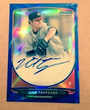 2013 Bowman Chrome DRaft Pick AUTO Nick TROPEANO BLue  REFRACTOR #55/150 BCA-NTR
