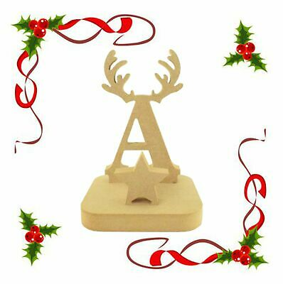 Christmas Stocking Hanger letters With 4 mm Santa a *** Price Per Letter ***
