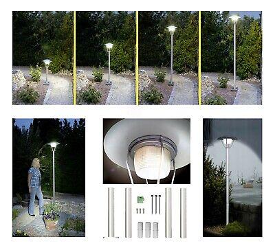 DEL solaire inox éclairage numéro maison éclairage Kaltweiss Lampe Solaire Luminaire