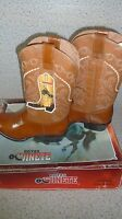 Botas El Jinete Brown Men's Leather Boots Made In Mexico Size- 9.5 (28.5)