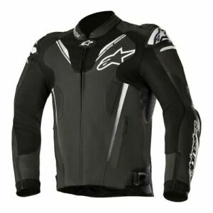 Alpinestars-Atem-v3-Leather-Sports-Motorcycle-Motorbike-Track-Jacket-Black