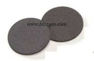 25 pcs adhesive back craft round 1 flat black for Small round magnets crafts