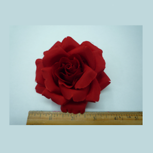 35 silk red rose flower lapel pin made in usa ebay image is loading 3 5 034 silk red rose flower lapel mightylinksfo