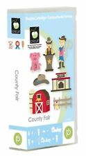 *New* COUNTY FAIR Farm Country Cricut Cartridge Factory Sealed Free Ship