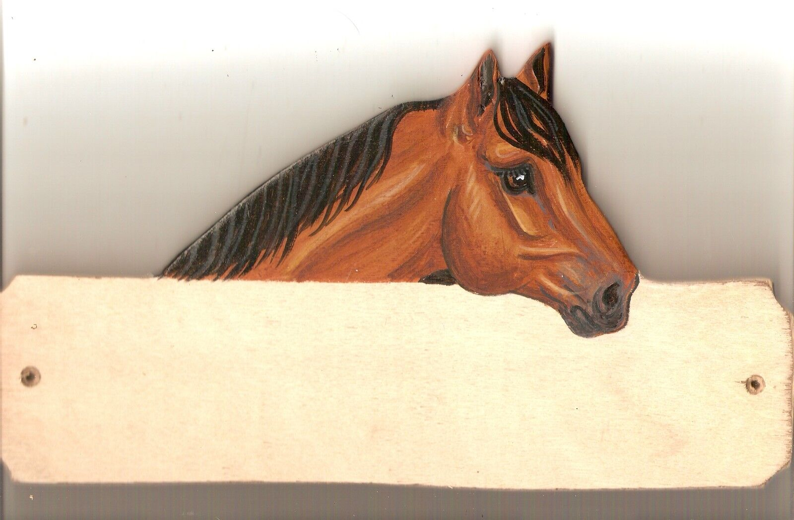 Quarter  horse stable stall barn name plate plaque sign personalised gift  sales online