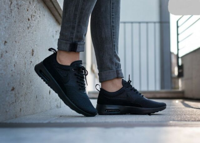 Nike Air Max Thea Ultra Se Black White Womens