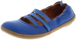 Kio in Art Scarpe Ballerinas 1291 Sea pelle blu For Women q66f5P