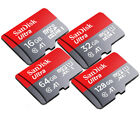 SanDisk Ultra A1 200GB 128GB 64GB 32GB 16GB micro SD SDHC SDXC Card Lot 100MB/s