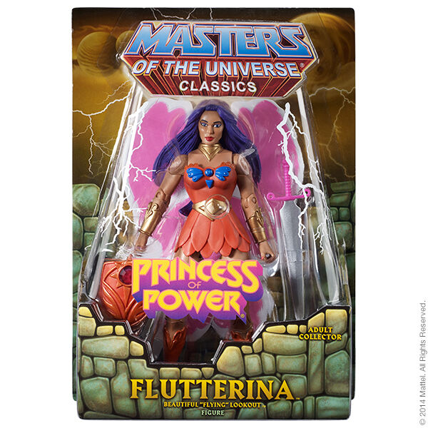 Masters of the Universe Classics - Flutterina - New (in hand)