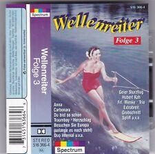 WELLENREITER FOLGE 3 MC NDW GROBSCHNITT/SPLIFF/TRIO AUDIO KASSETTE TAPE CASSETTE