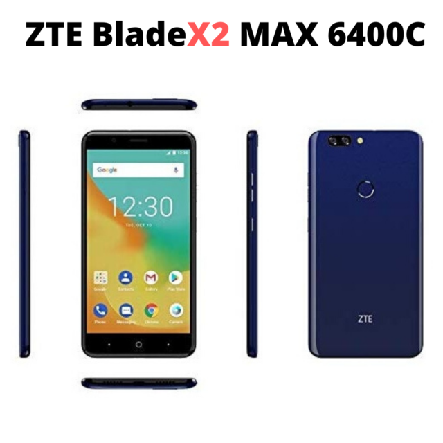 "ZTE BLADE X2 MAX 6400C Unlocked GSM Phone 6.0"" Screen Octa-Core 1.4GHZ 2GB RAM"