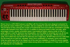 Symmetrical Keyboard Keys (Keyboard NOT included) Fits UMX 610 (34 key sets)