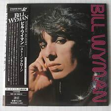BILL WYMAN - Stone Alone + 2 JAPAN MINI LP CD NEU! TECI-24301 ROLLING STONES