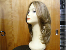 "European Multidirectional 17""  Wig Sheitel Light Brown& Highlights 16/10 Large"