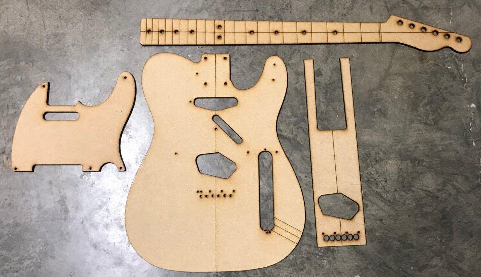 Clásico Telecaster Pickguard Luthier Luthier Luthier enrutamiento edificio Plus Plantillas  precio razonable