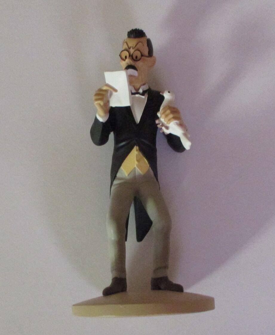 Figurine Tintin Moulinsart   Mistsuhirato à la colombe - lotus Blau