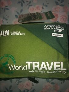 Adventure Medical Kits World Travel First Aid Kit. Lightweight (NEW UNOPENED)