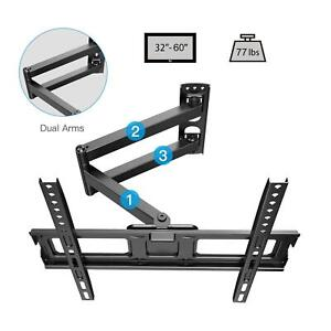 FULL-MOTION-LCD-LED-TV-WALL-MOUNT-BRACKET-SWIVEL-TILT-32-36-40-42-46-49-50-55-60