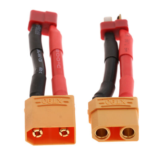 XT90 to T-Plug Male /& Female Lipo Battery Adapters Lead Wire for RC Models