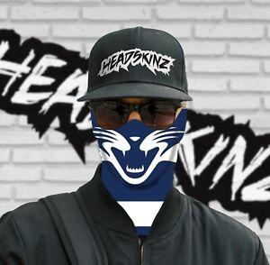 Bandana Face Mask The Cats Motorbike Camping Fishing Sport Afl Ebay