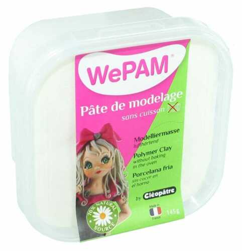 WePam Porcelaine froide à modeler WePam 145 g Blanc