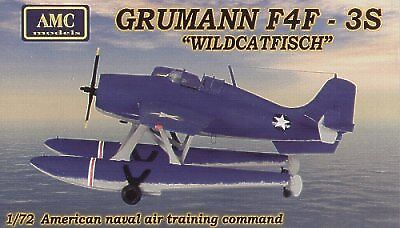 AMC 1 72 Grumman F4F Wildcatfish Plastic Model Kit