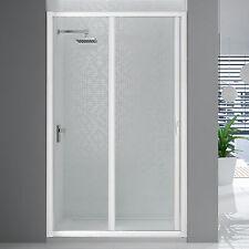 Box doccia acrilico porta scorrevole 120 cm per nicchia riducibile bianco novità