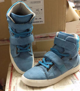 Used-Android-Homme-Men-039-s-Propulsion-Hi-Ultra-Light-Sneakers-Blue-Size-9-5