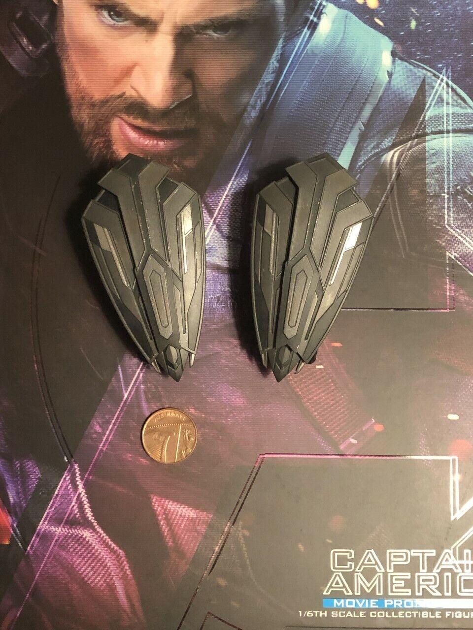 Hot Toys Captain America IW MMS481 Movie Promo Wakanda Shields loose échelle 1 6th