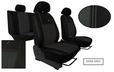 BMW 1 SERIES F20 2011 PRESENT ECO LEATHER /& ALICANTE FRONT SEAT COVERS TAILORED