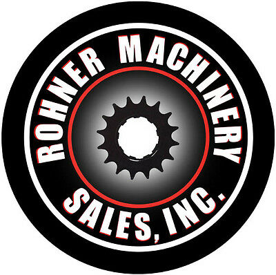 Rohner Machinery Sales Inventory