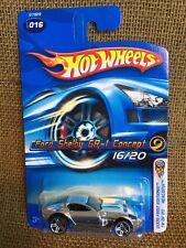 Hot Wheels 2005 Mainline 1st Ed. REALISTIX Ford Shelby GR-1 Concept Chrome!