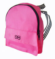 Hot Pink Backpack Fits 18 Inch American Girl Dolls School Supplies Accessories