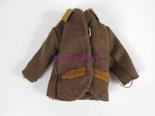 Vtg European Todd Tutti's Brother Doll Fashion ~ Brown Jacket